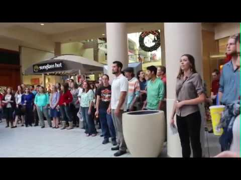 Christmas Flash Mob 2014: Thomas Aquinas College