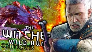 THE WITCHER 3: WILD HUNT - CONTRACTS | The Chicken-Dragon (Funny Gameplay Montage)