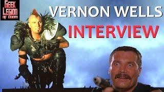 VERNON WELLS Interview 2016 : Mad Max 2 : Road Warrior - Commando - Power Rangers ( part 1 )