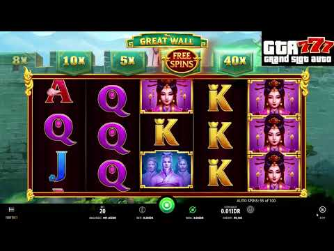 The Great Wall GTA777 SLOT ONLINE (ISOFTBET)