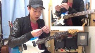 ギターレッスン【ピックスクラッチを覚えよう】