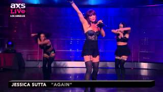 "Jessica Sutta Performs ""Again"" on AXS Live"
