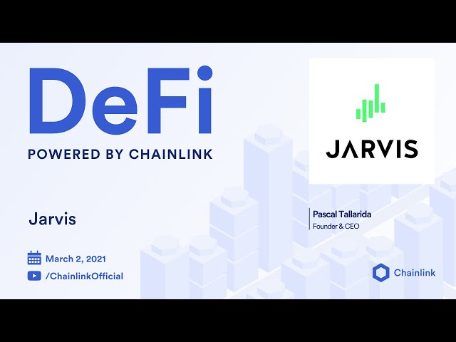 Jarvis and Chainlink Live Q&A: Use of Off-chain Reporting to Enable Synthetic Forex Asset Trading