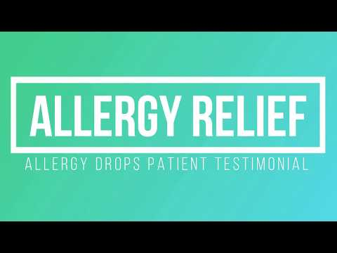 Get Allergy Relief | Allergy Drops Testimonial