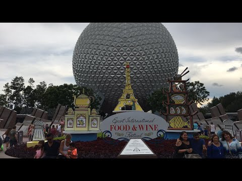 Epcot Food and Wine Festival Live Stream - 9-1-17 - Walt Disney World