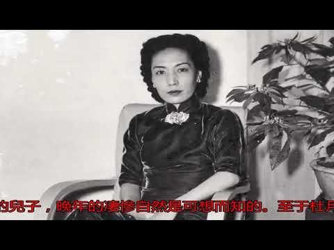 杜月笙63歲病逝,留下五個漂亮老婆怎么辦?有兩人善終_搜狐歷史_搜狐網