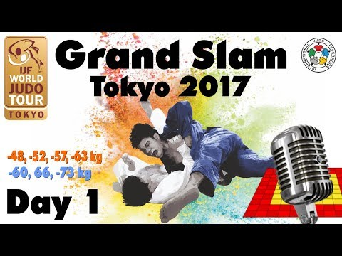 Judo Grand-Slam Tokyo 2017: Day 1
