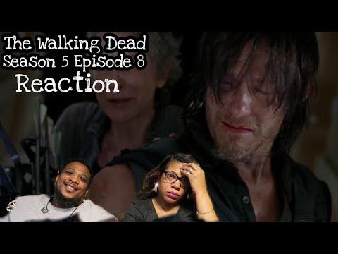 The Walking Dead   REACTION - Season 5 Episode 8
