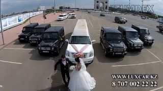 Кортеж Гелендвагенов G63 AMG! Свадьба в Астане.