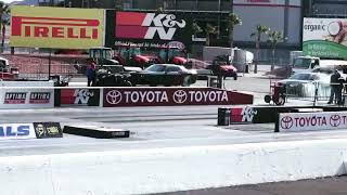Hellcat drag racing at LVMS