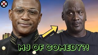"Tommy Davidson Emphaticaly States: ""I'm The Mike Jordan Of Comedy!"""