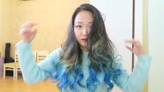 Как я укладываю волосы