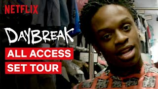 Daybreak Cast Give You An All Access Behind the Scenes Tour | Netflix