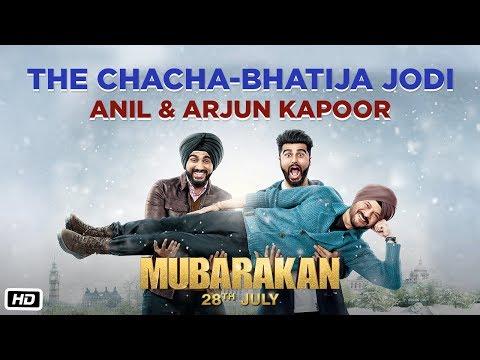 The Chacha-Bhatija Jodi | Mubarakan | Anil Kapoor | Arjun Kapoor | Anees Bazmee