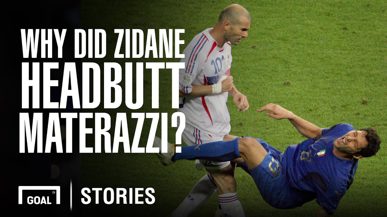 Why did Zidane headbutt Materazzi in the World Cup 2006 final? - YouTube