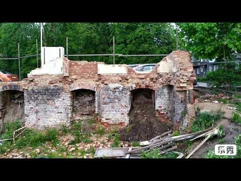 Исторические развалины. Технологии.