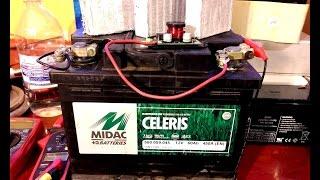 Восстановление емкости аккумулятора ( десульфатор )