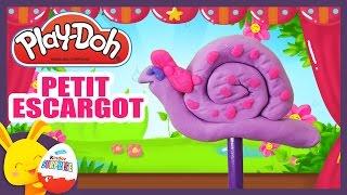 Petit escargot - Comptine en pâte à modeler Play-Doh - Titounis