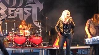 Battle Beast : Sea of dreams & Unholy savior, Live at Lankafest 2015 in Puolanka, Finland