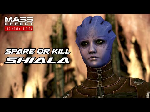Mass Effect 1 Legendary Edition - Spare or Kill Shiala (Both Choices) |
