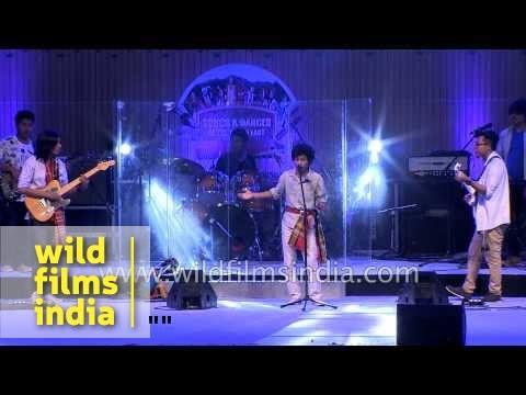 Koloma band from Tripura