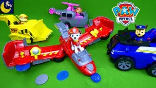 Paw Patrol Toys Flip and Fly Marshall Transforming Jet Plane Rescue Chase from Slime Rubble Skye Toy