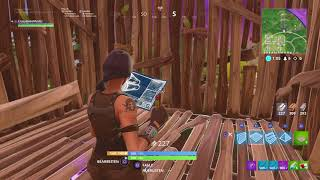 "Fortnite: Won in Sniper mode with rare ""Stormtrooper"" skin."