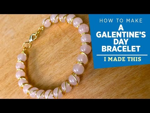 How to Make a Galentines Bracelet | I Made This