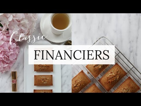 How to make Classic French Financiers⎜如何做經典法式 金磚蛋糕