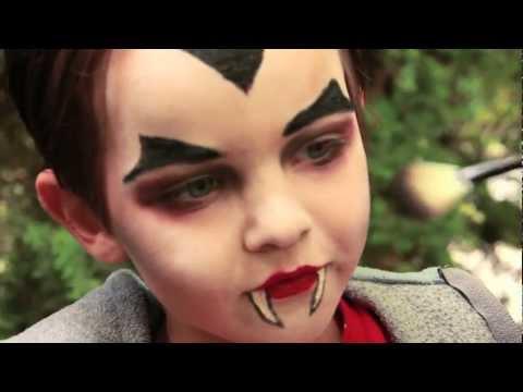 Halloween Schmink Kind.Dracula Vampire Makeup Tutorial Halloween Youtube