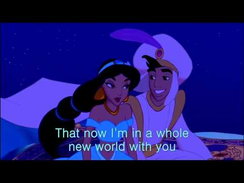 A whole new world English