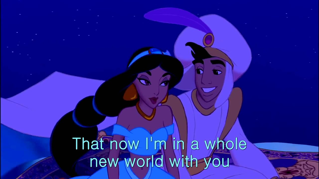 a whole new world youtube