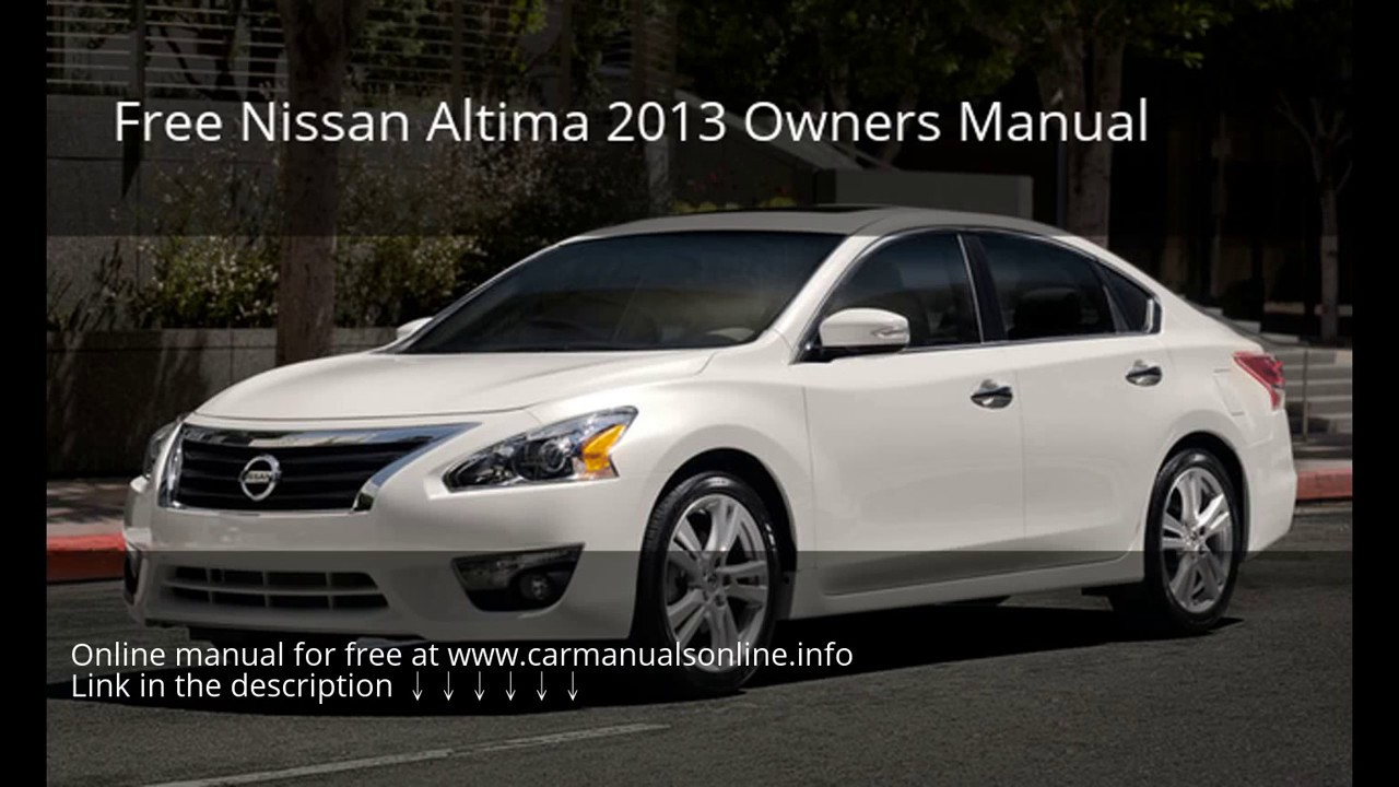 2013 nissan altima manual 2013 nissan altima owners manual rh bhakticlub org nissan altima 2014 owners manual 2013 nissan altima owners manual canada