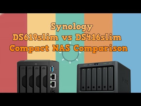 Synology DS619slim vs Synology DS416slim NAS Comparison