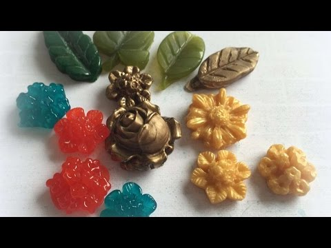 How To Make Resin Leaves And Flowers - DIY Crafts Tutorial - Guidecentral