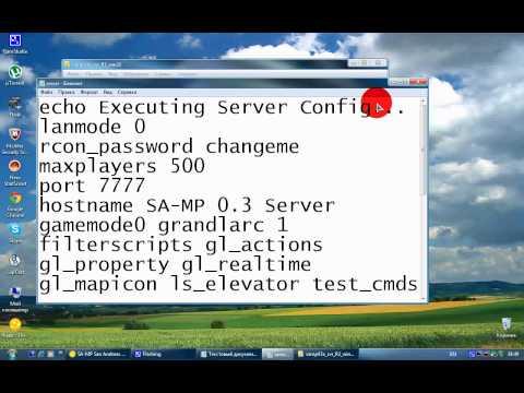 видео: как создать сервер в gta samp