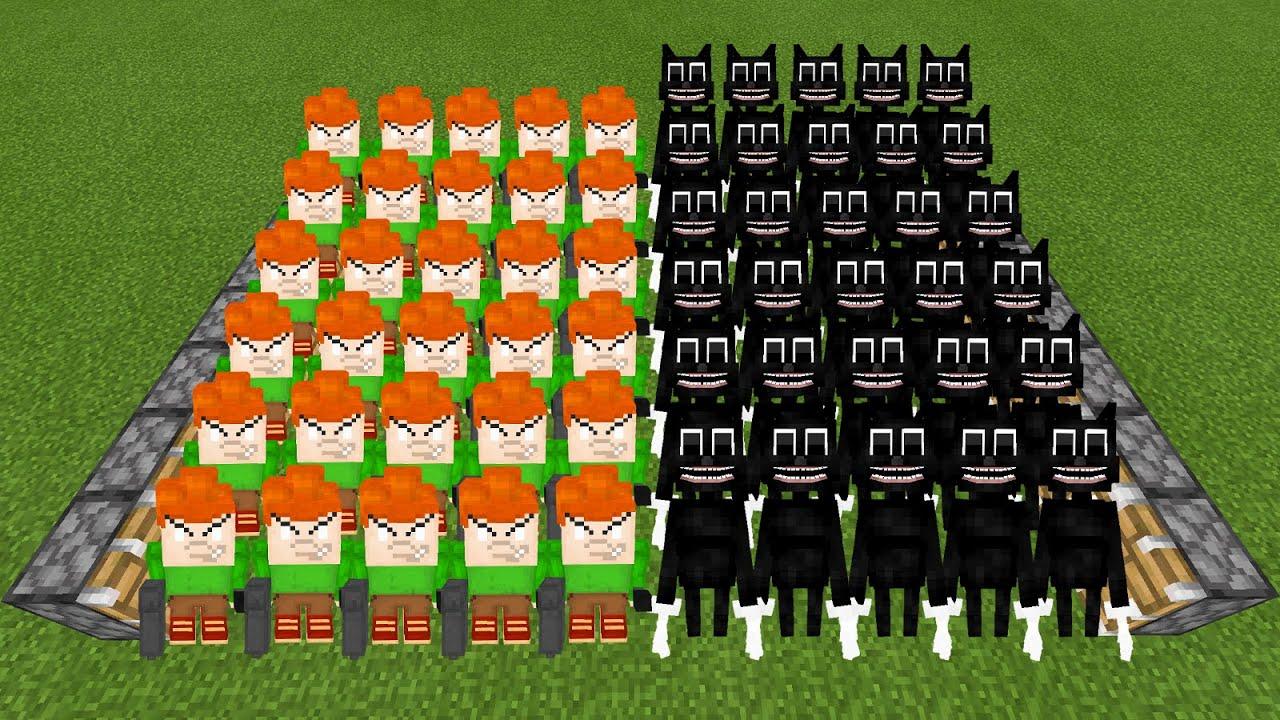 Pico x30 + Cartoon Cat x30 = ???