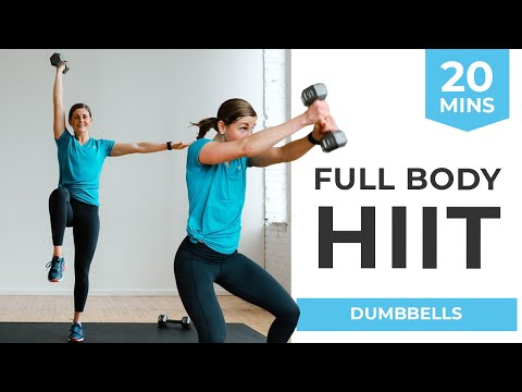 20-Minute Workout: Full Body HIIT Workout for Women