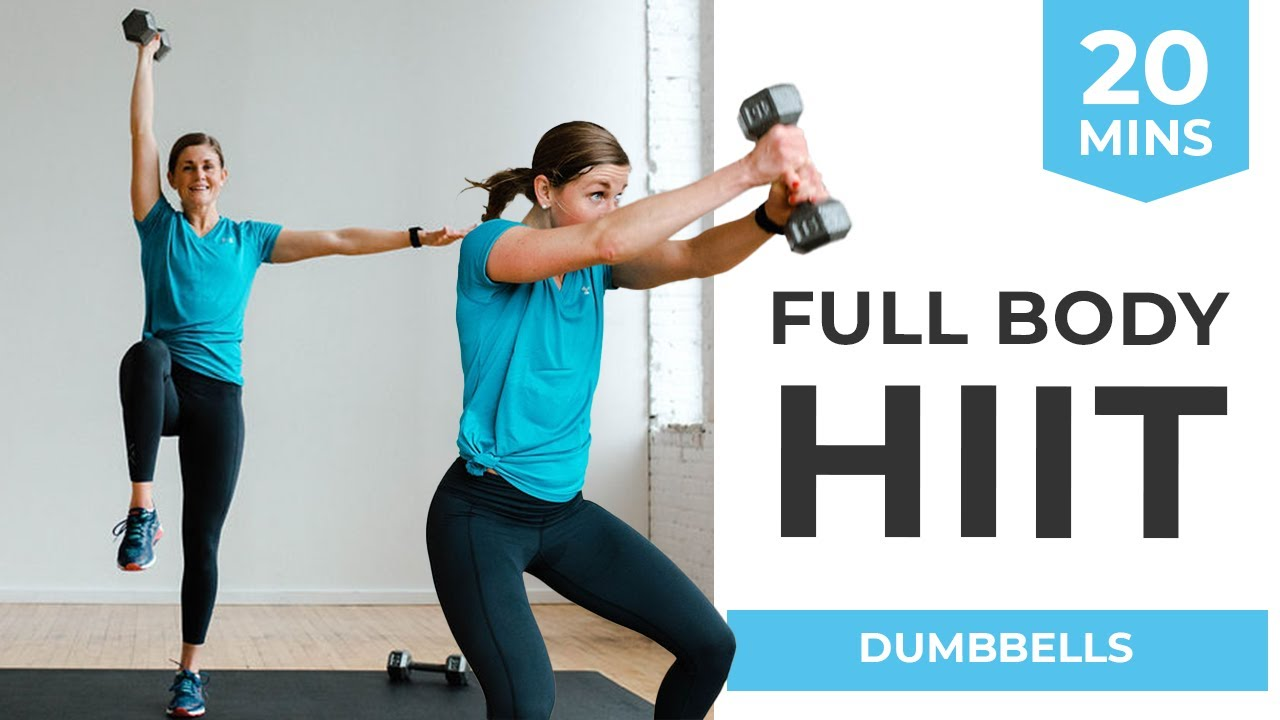 20 Minute Full Body Hiit Workout For Women