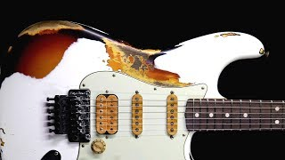 Dirty Hard Rock Guitar Backing Track Jam in C Minor