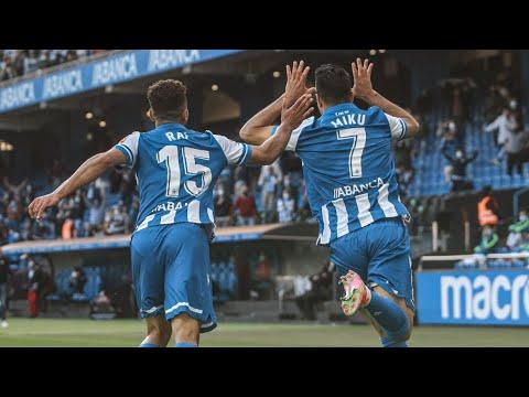 Liga de 2ª B. Deportivo 5-0 Langreo