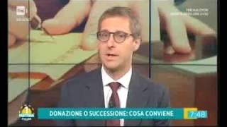 18/07/2017 - Unomattina Estate (RAI 1) - Casa in eredità: successione o donazione?