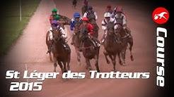 Prix Saint-Léger des trotteurs 2015 - La course