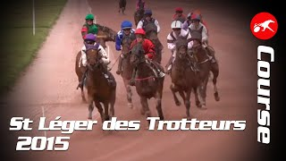 Vidéo de la course PMU SAINT-LEGER DES TROTTEURS