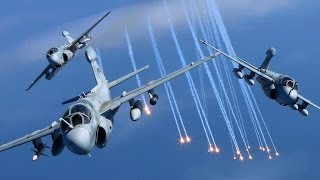 EA-6B Prowler Squadrons Final Flight Together Before Retirement