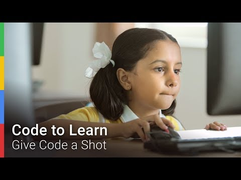 Google Code to Learn - #GiveCodeAShot