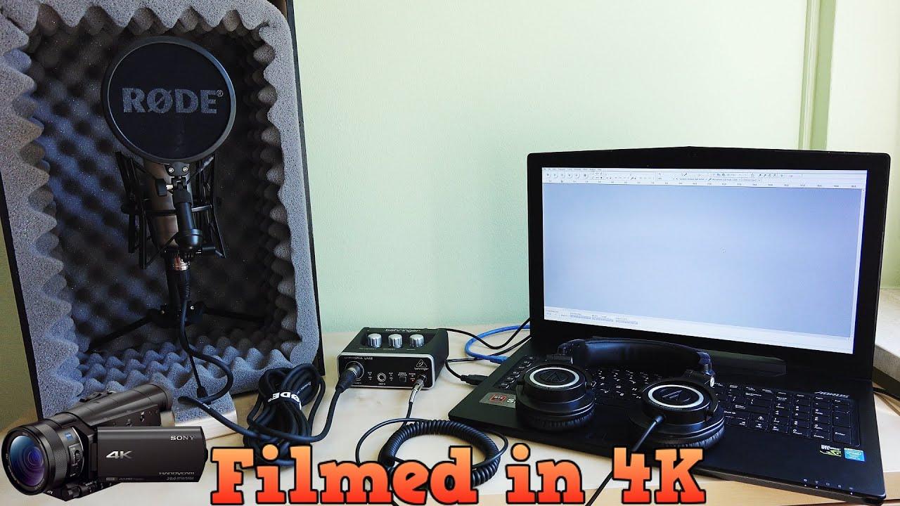how to make blue snowball sound like a studio mic