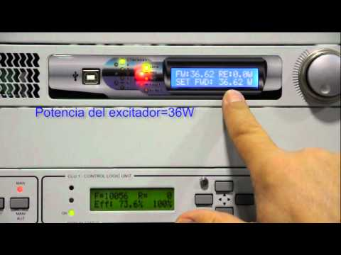 Transmisores FM Radio DB Broadcast Green Rf Ajuste Eficiencia