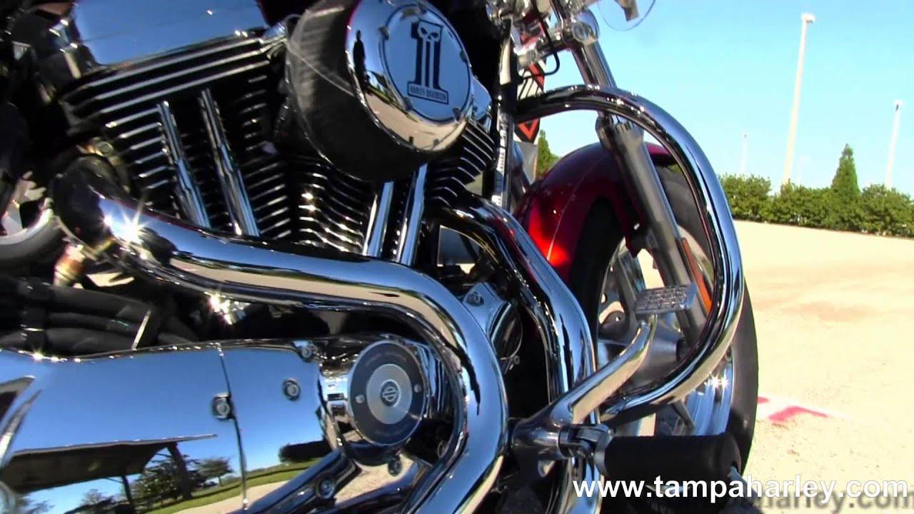 Harley Davidson: New 2013 Harley-Davidson XL1200C Sportster 1200 Custom