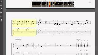 Learn How to Play Taylor Swift - Safe & Sound Acoustic Guitar Pro 6 TABS & CHORDS